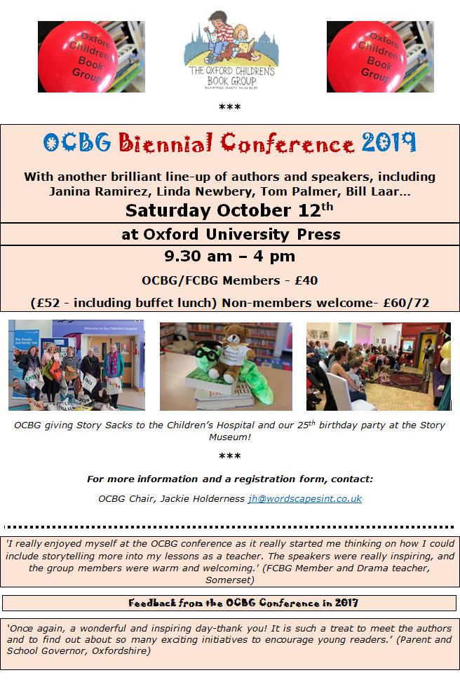 OCBG Biennial Conference 2019